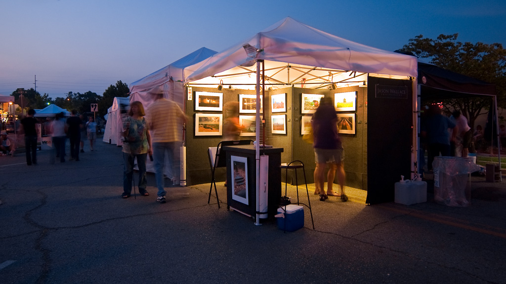 booth ... & How To Sell Photography At Art Festivals