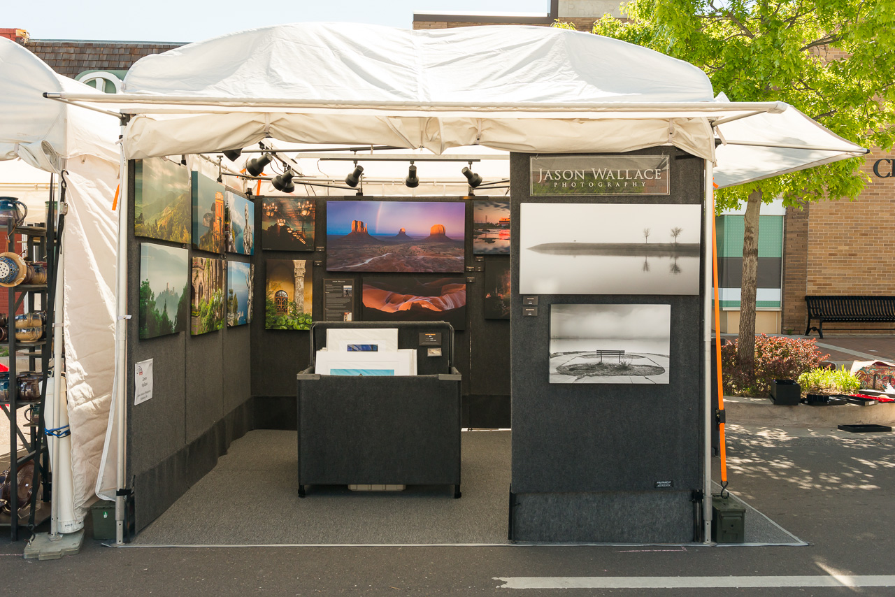 2014 edmond art festival standing in a toaster oven for Used craft fair tents